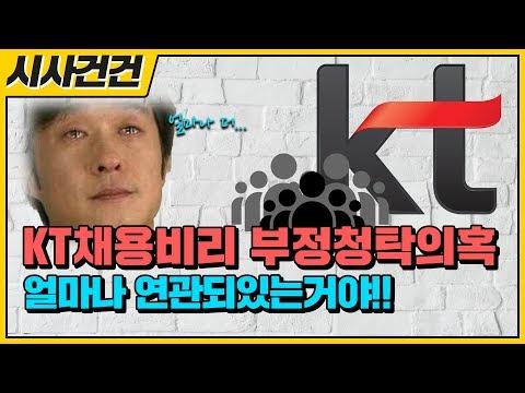얼마나 많은 사람이 들어가있는거야? 'KT채용비리' 부정청탁의혹!