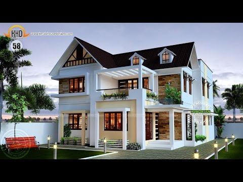 10 Marla Modern Home Design 3d Front Elevation Doovi