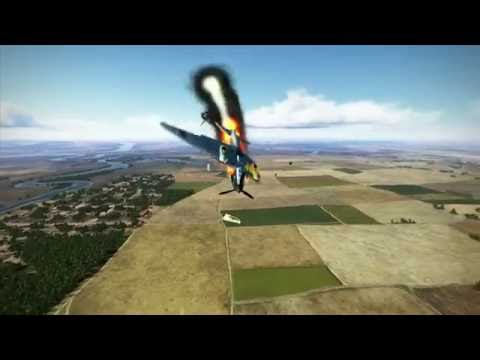 IL2: Battle of Stalingrad Crashes, Kills and Explosions part 5