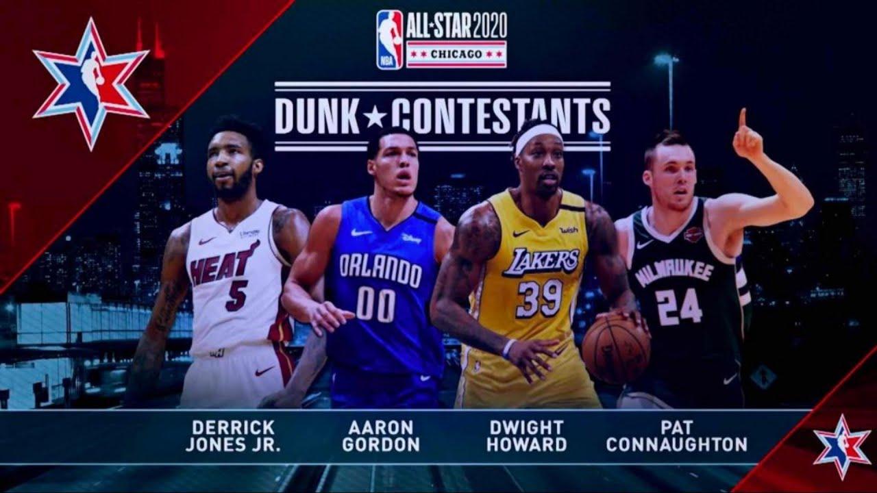 NBA Slam Dunk Contest 2020: Derrick Jones Jr. edges Aaron ...