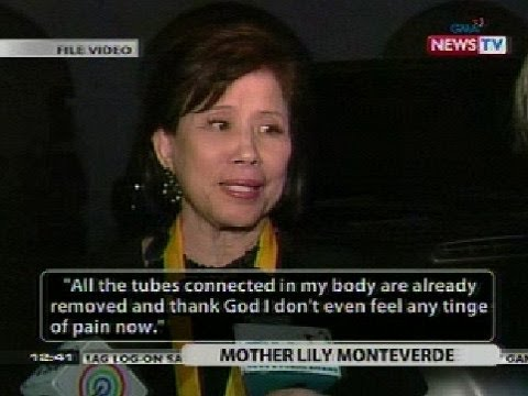 BT: Mother Lily Monteverde, bumubuti na ang kalagayan