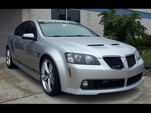 Pontiac G8 GT with Pypes Exhaust