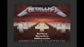 Battery - Metallica Karaoke