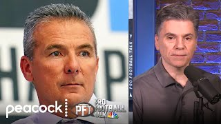 Mike florio and charean williams discuss the pressure on urban meyer in jacksonville his first big decision with jaguars' no. 1 overall draft pick. #...