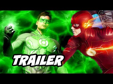 The Flash Season 6 Episode 5 Trailer - Green Lantern Crisis On Infinite Earths Breakdown