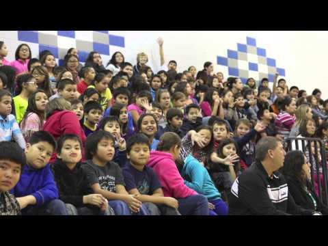 Culture Shock Camp & Tiospa Zina Tribal School - QUESE IMC & BRIAN FREJO