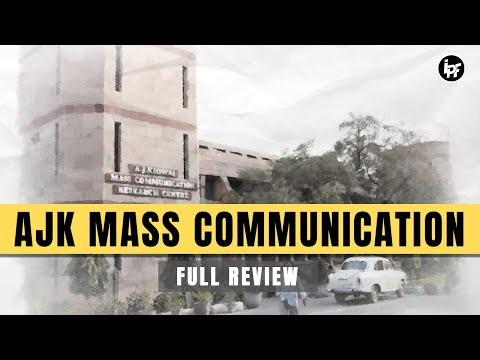 A.J.K Mass Communication Centre In Depth Analysis | Placements | Admission | Fee|