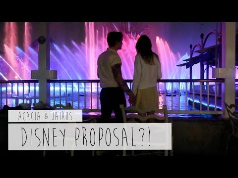 DISNEY PROPOSAL?! | ACACIA & JAIRUS