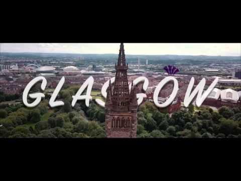 Glasgow Drone Tour