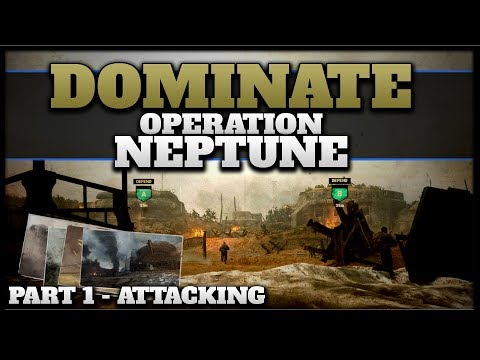 Dominate Operation Neptune (Attacking) | CoD WW2 War Mode Tips!