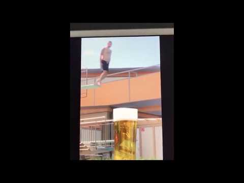 Super beer jump for hot weather 2017