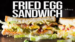 The World's Best Fried Egg Sandwich - SAM THE COOKING GUY recipe
