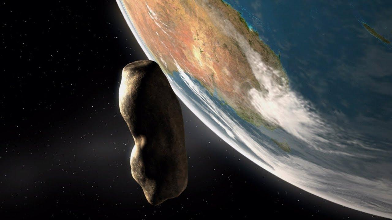 asteroid near earth 2019 - 1280×720