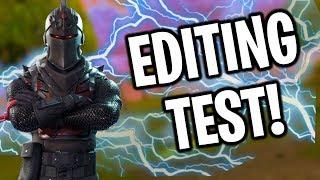 Fortnite Editing Test!  | (I'm not that fast)