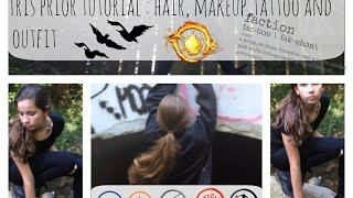 Tris Prior Tutorial: Hair, Makeup, Tattoo & Outfit Thumbnail