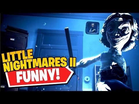 SMOL TEACHER vs. BIG TEACHER! (Little Nightmares II) |