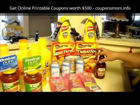 803dd968c22ee How to Extreme Coupon Shopping Trips - YouTube