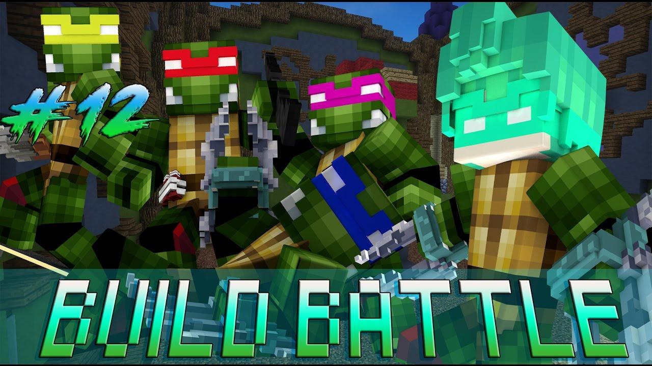 Oops Gumball Minecraft Build Battle  - Tập 12 : XÂY NINJA RÙA