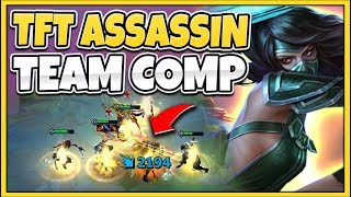 *BEST TEAM POSSIBLE* TFT FULL ASSASSIN TEAM COMP (TEAM FIGHT TACTICS) - League of Legends