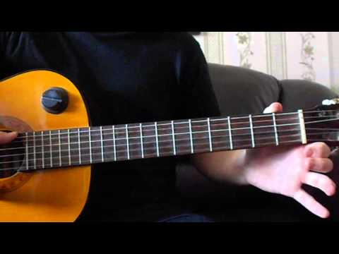 Как играть на гитаре.Мелодию Prayer in C ( Lilly Wood & The Prick and Robin Schulz)
