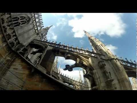 Walking in Milan with Gopro HD Hero2