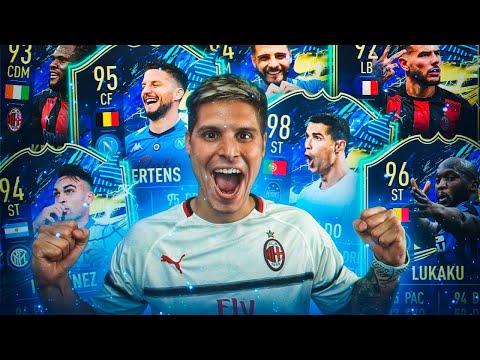 ABRO +150 MEJORAS Y ME TOCAN MUCHOS TOTS DE LA SERIE A Y MI ICONO TOP +92!!!   FIFA 21