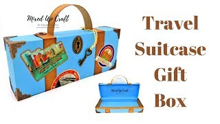 Travel Suitcase Gift Box