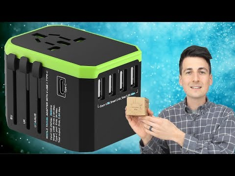 150+ Countries International USB Travel Charger Power Converter Review