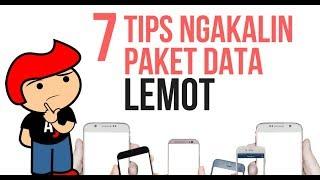 7 tips mengatasi masalah koneksi paket data lemot