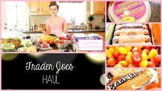 Trader Joes & Whole Foods Haul Thumbnail