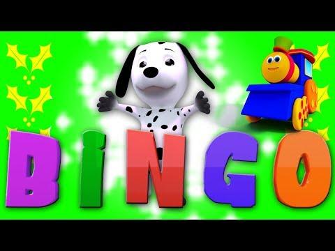 Бинго собака | Рифмы для младенцев | Детские песни | Bingo The Dog