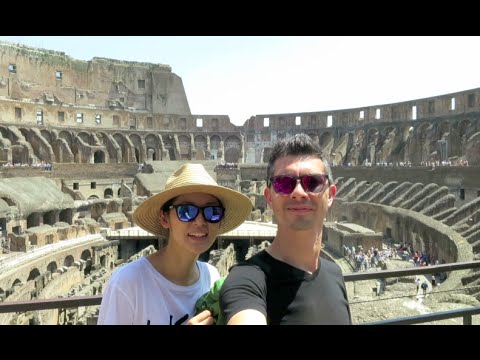 Rome Vlog: Pantheon, Colosseum, Vatican City Museum, St. Peter