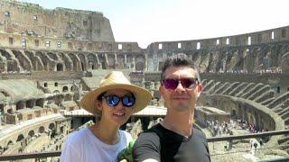 Rome Vlog: Pantheon, Colosseum, Vatican City Museum, St. Peter