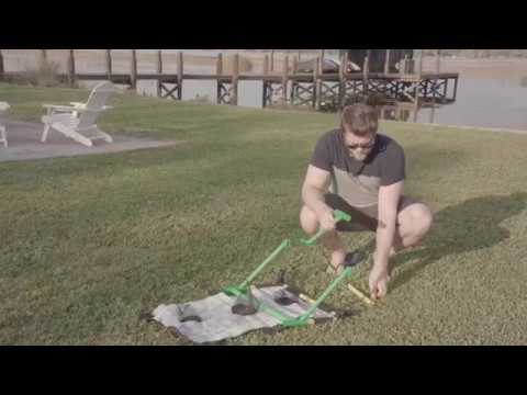 Go! Gater® Ladderball, Bean Bag Toss & Washer Toss - Assembly Video