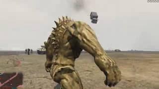 GTA 5 Mods #3 - Quẩy nát khu sân bay với quái vật Abomination