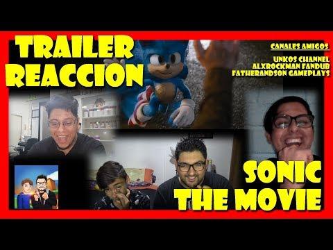 Trailer Reaccion Sonic: La Película - (Tráiler Oficial 2) Rediseño 2020