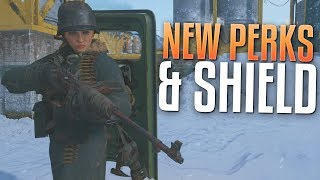 New Perks, Shield, & Specialist! (Call of Duty: WW2 United Front Stream)