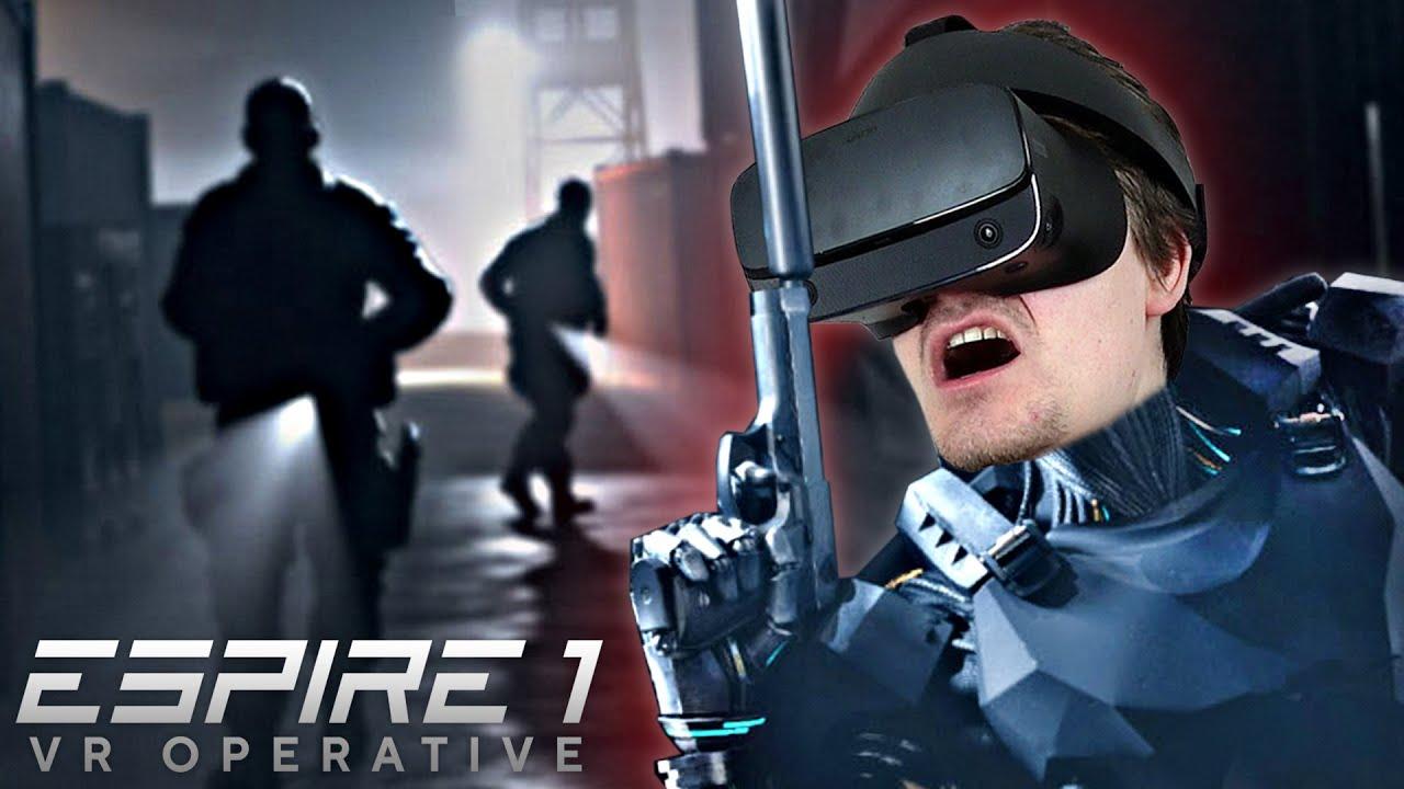 ROBOT SPION! | Espire 1 VR