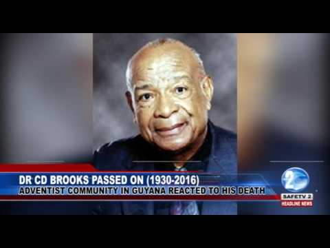 DR CD BROOKS PASSED ON 1930 2016