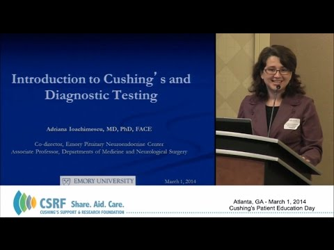 Introduction to Cushing's and Diagnostic Testing