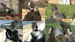 Call Of Duty WAW-BO2: Revolver Comparison