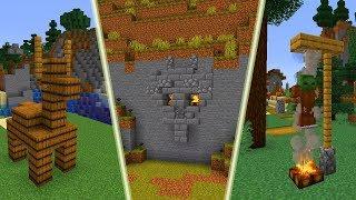 10 GENIALNYCH BUILDHACKÓW w Minecraft 1.14!