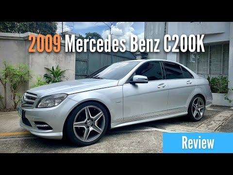 2009 Mercedes Benz C200 Kompressor (W204) C Class Review