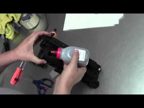 How To Refill Dell E310dw E514dw E515dw Toner Cartridge