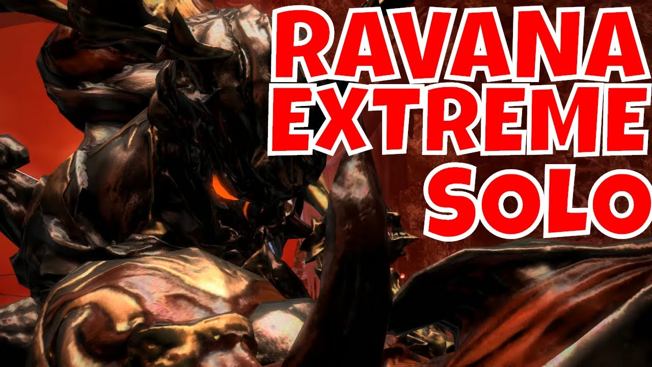 Repeat FFXIV: Ravana Extreme Solo Clear // Thok Ast Thok Dark Knight
