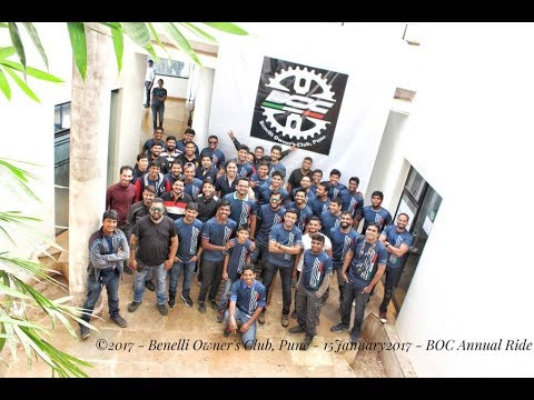 BOC Annual Ride 2017 To Paradise Country Panshet