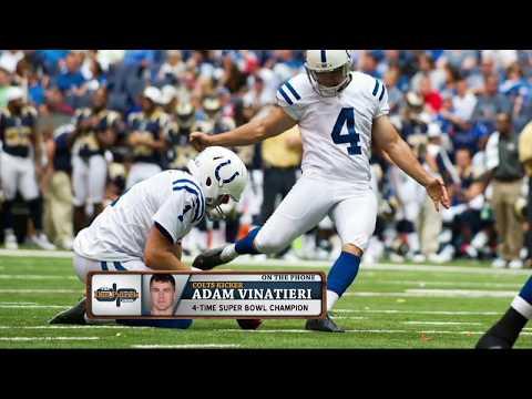 Colts PK Adam Vinatieri Explains a Kicker