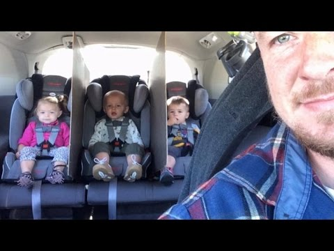 Father of 2-Year-Old Triplets Finds Inventive Car Hack To Stop ...