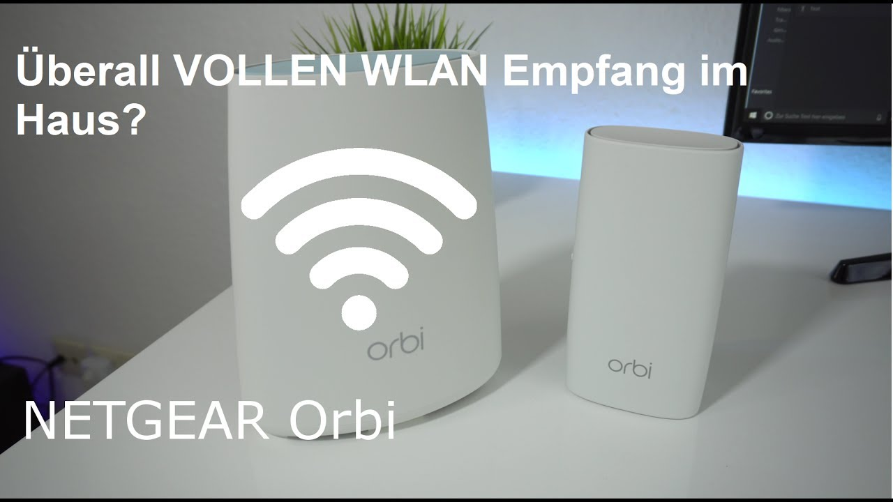 voller wlan empfang im ganzen haus netgear orbi einrichtung und testbericht youtube. Black Bedroom Furniture Sets. Home Design Ideas