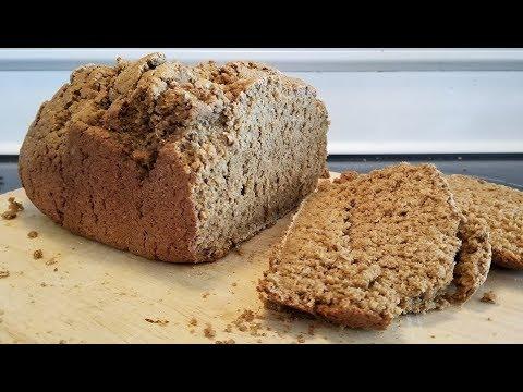 Easy Healthy Organic Molasses Oat Bran Bread - bread machine